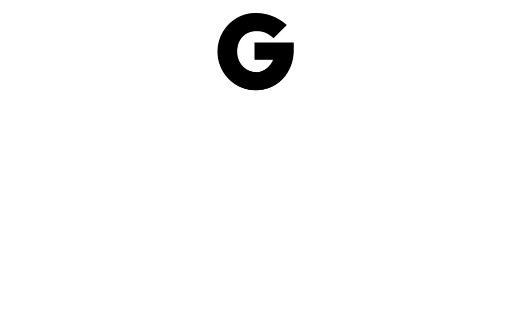 Groupius Logo Boven Naam Wit